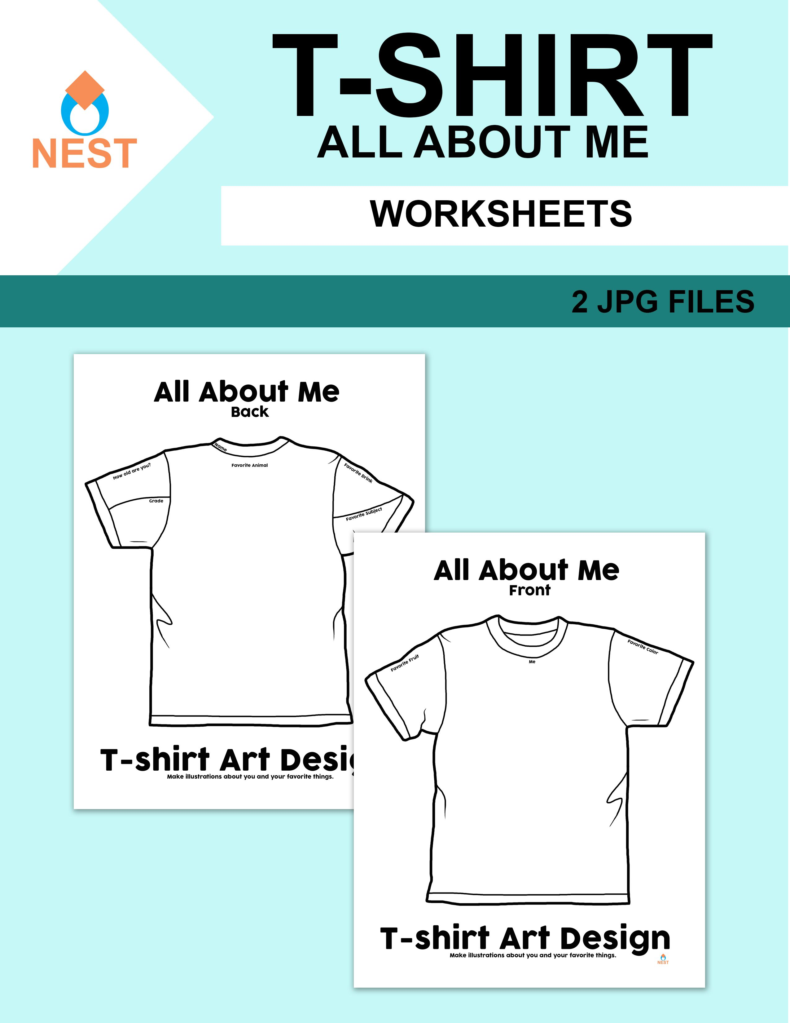 T Shirt All About Me Design