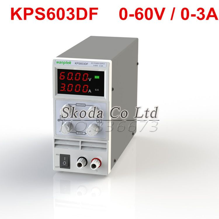 DHL Free KPS-603DF Mini Switching Regulated Adjustable DC Power ...