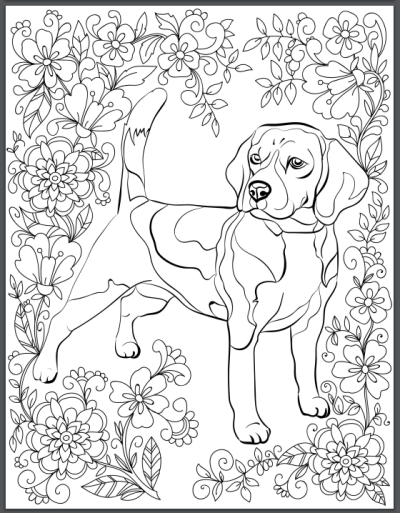 De Stress With Dogs Downloadable 10 Page Coloring Book For Adults Who Love Dogs Print Instantly In 2021 Dog Coloring Book Dog Coloring Page Animal Coloring Pages