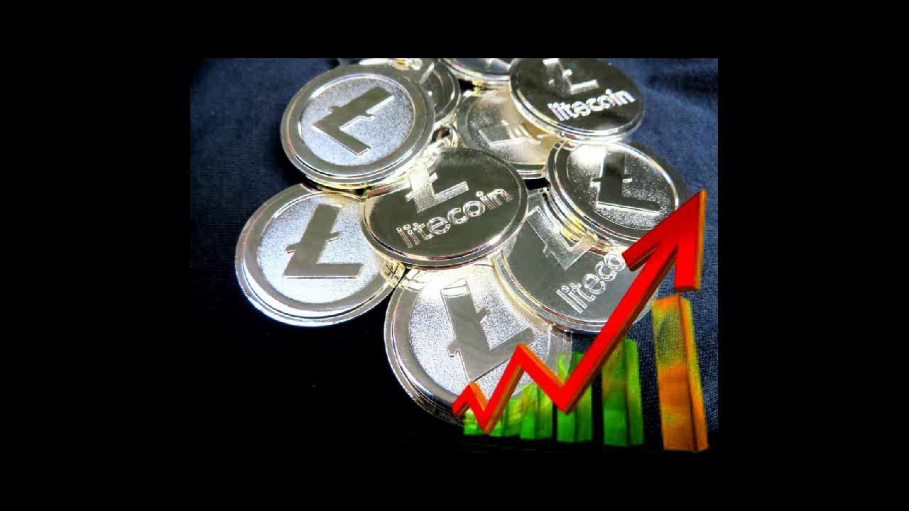 LITECOIN HITS 50 FOR FIRST TIME EVER Cryptocurrency