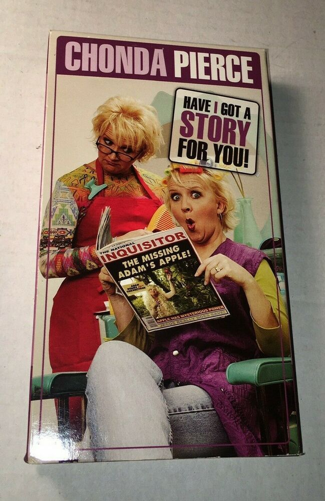 CHONDA PIERCE..HAVE I GOT A STORY FOR YOU Comedy VHS