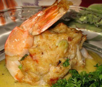 Crab Stuffed Shrimp Baked Stuffed Shrimp Crab Recipes Food