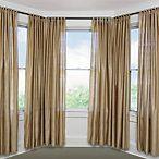 Blockaide Bay Window Curtain Rod System Bay Window Curtains Bay
