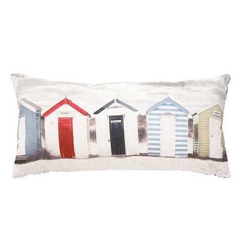 Debenhams Vintage beach huts cushion- at Debenhams.com | apartment ...