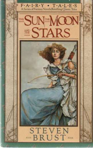 THOMAS CANTY - The Sun, The Moon, and the Stars by Steven Brust - 1987 Ace Books