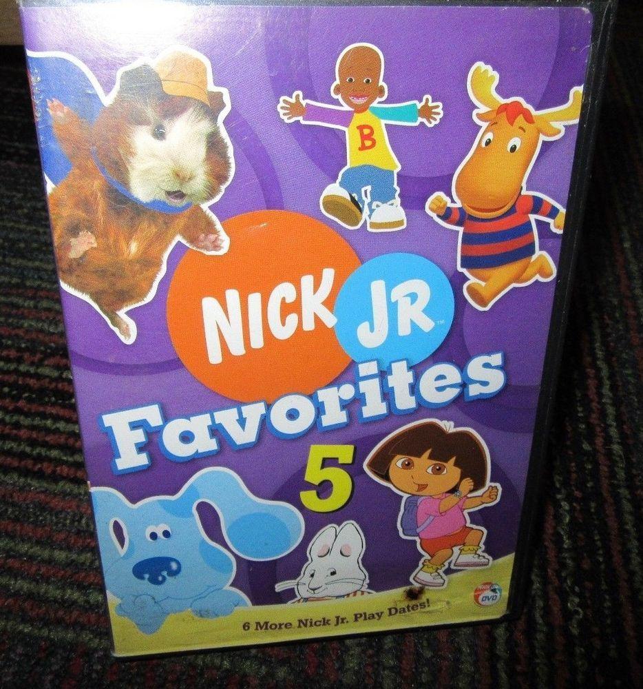 nick jr favorites volume 5 dvd, 6 adventures in fullscreen, dora
