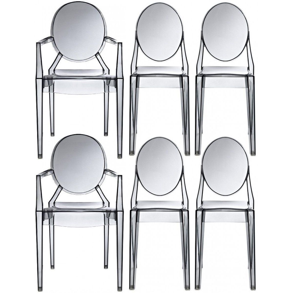 louis ghost chair dimensions