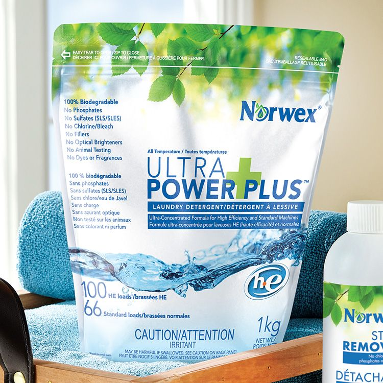 Norwex: 1kg Ultra Power Plus Laundry detergent HE  $25