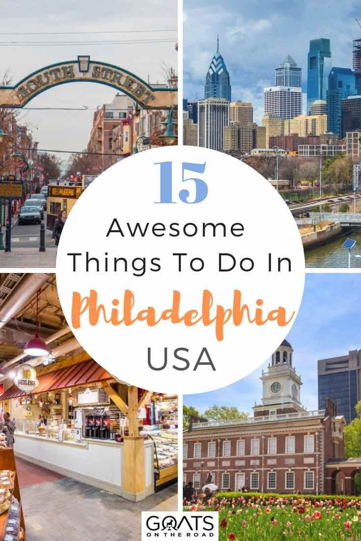 Looking for what to do in Philadelphia, Pennsylvania? We've got the ultimate guide for you, with unique places to visit! Whether you want entertainment, historical attractions like the independence national historic park, unique shops and restaurants like those on South Street, or some fun things to do, we've got your itinerary sorted! | #Pennsylvania #USAtravel #traveltips