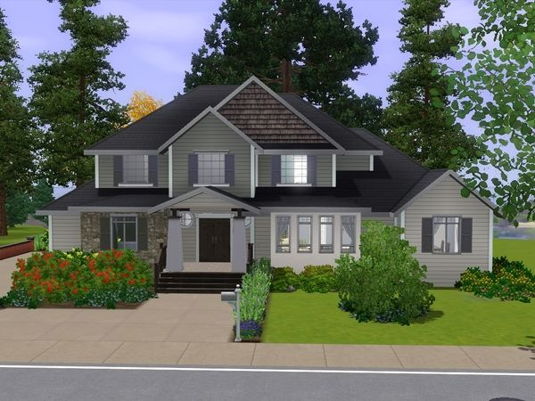 Gamergurl101's Evergreen Holly | Sims house, Sims 3 houses ...