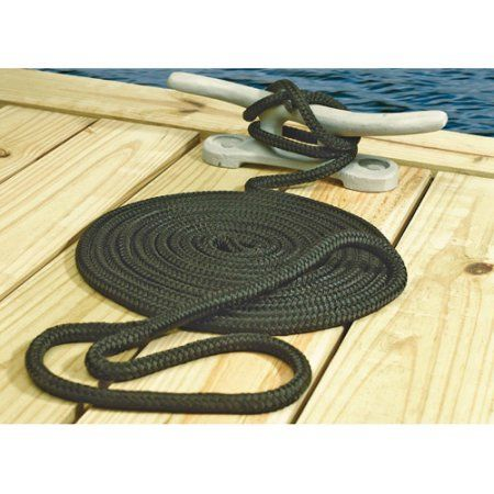 1//2 Inch x 30 Ft Premium Twisted Nylon Mooring and Docking Line for Boats