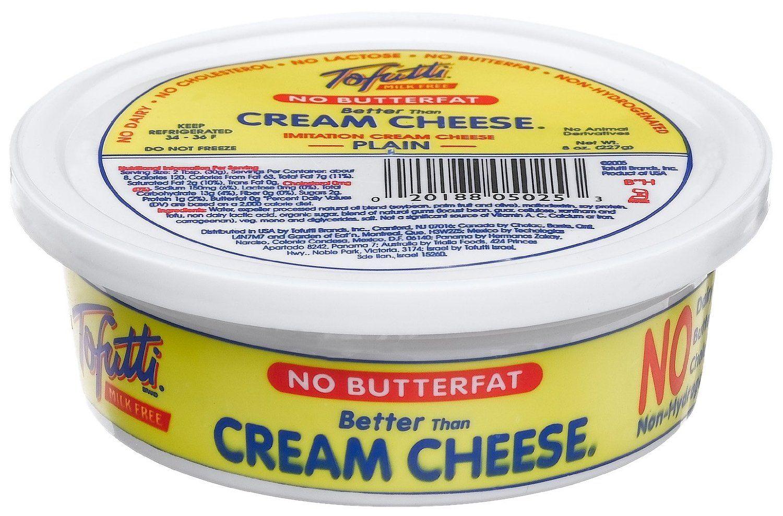 Amazon Com Tofutti Better Than Cream Cheese 8 Oz Tub Refrigerated Cream Cheese Grocery Gourme Tofutti Cookie Dough Cheesecake Vegan Cheesecake Recipe
