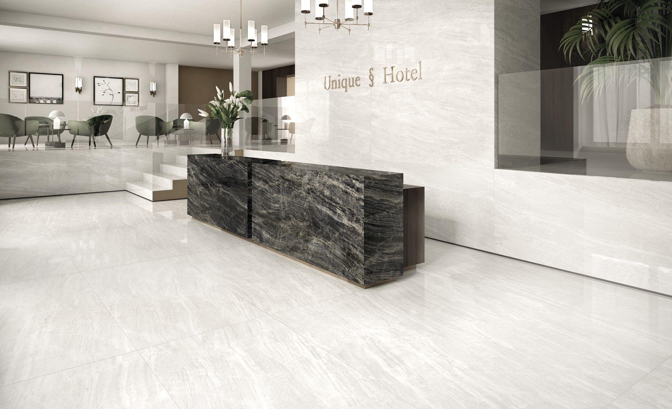 4428 Marble Look Tile Hotel Lobby Design Lobby Design Marble Look Tile