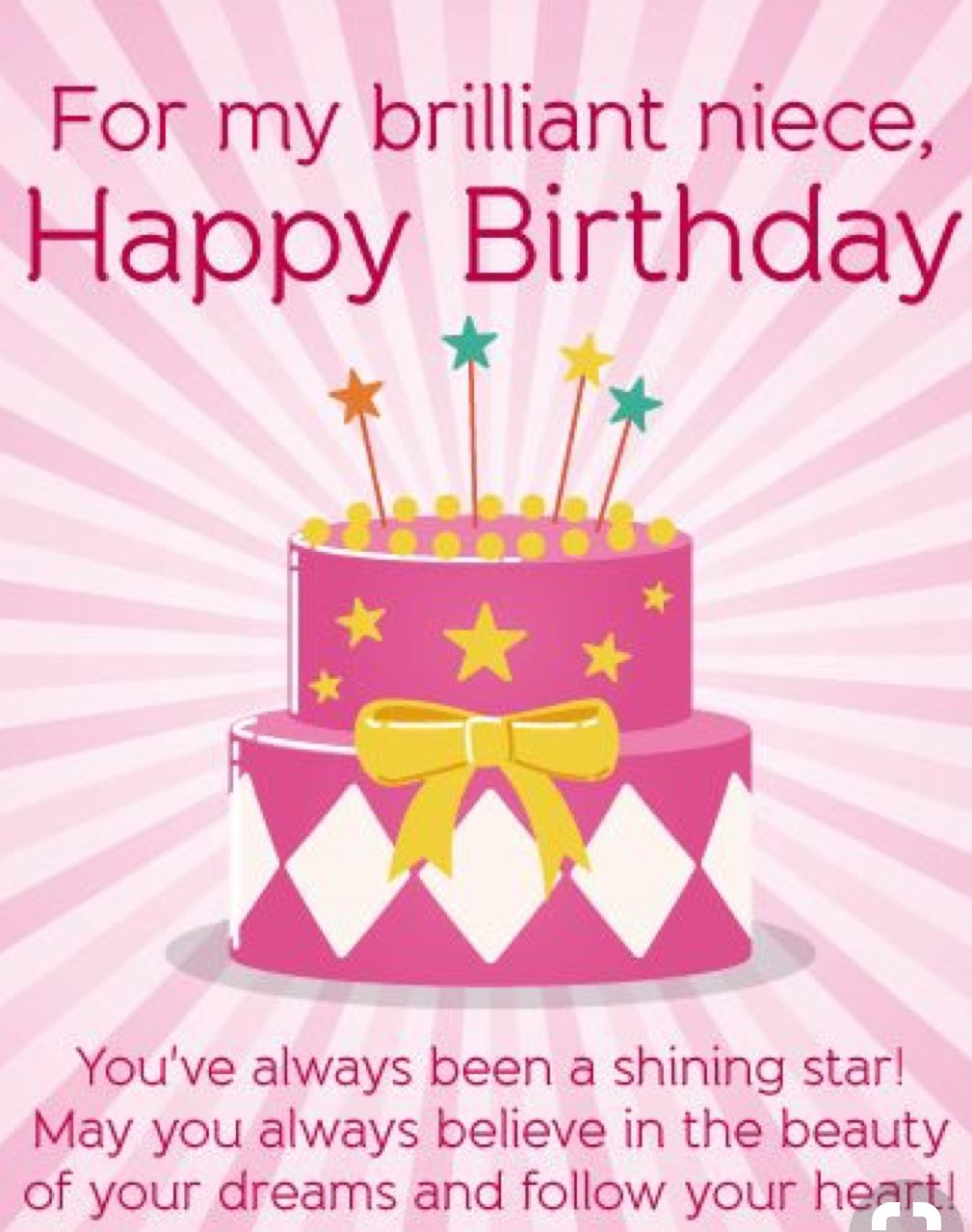 Pin By Dympna Reidy On Niece Birthday Pinterest Birthday Wishes