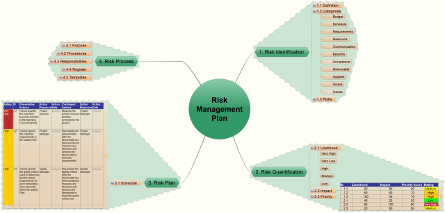 Risk Management Plan  Project Management    Risk