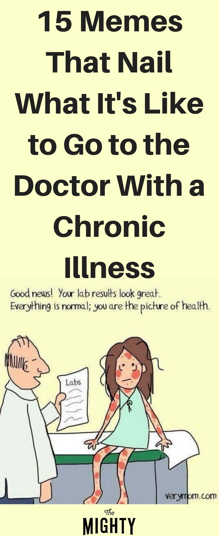 a1d9dcf662ca865f75b6a5dc03289526 15 memes that nail what it's like to go to the doctor with a chronic