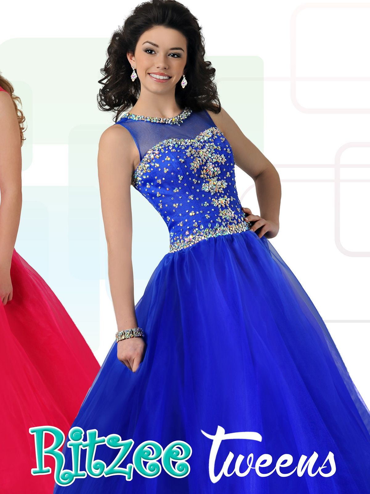 Blush Pink Ritzee Tween Pageant Gown T701|PageantDesigns.com ...