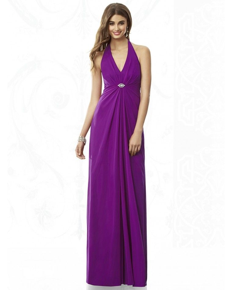 Full Length Chiffon After Six Bridesmaid Dress 6692Outlet | After ...