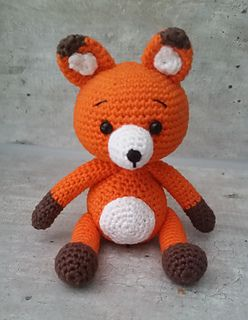 Crochet Free Pattern Ravelry Amigurumi Fox Stuffed Toy Haken