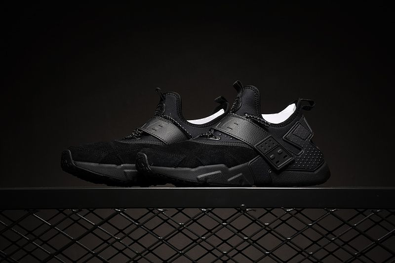 a5f40dba18a9 Men Nike Air Huarache Drift Premium Black AH7335-001