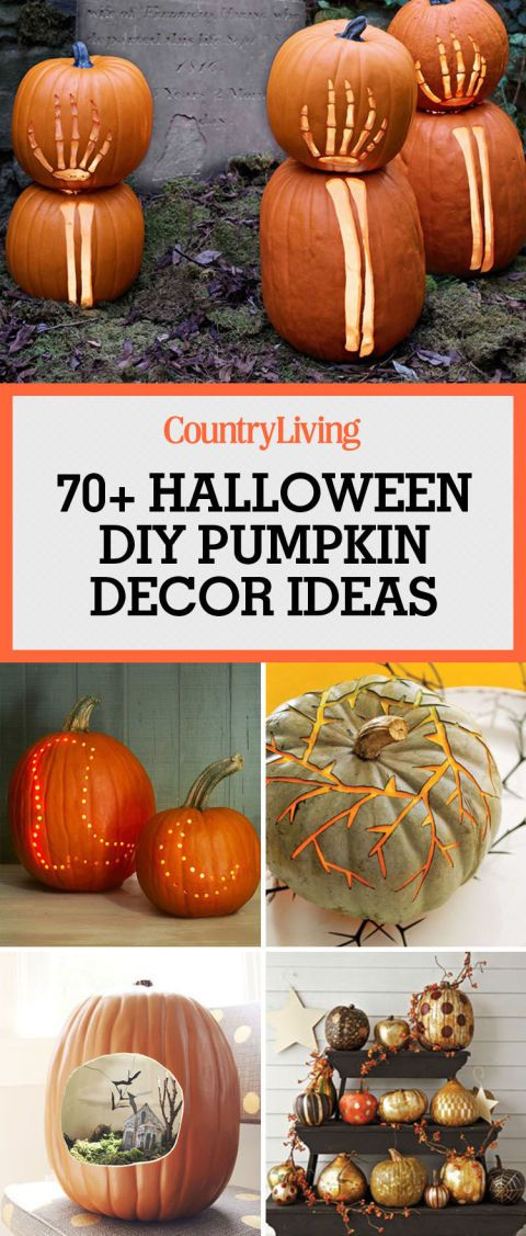 85 New Ways To Decorate Your Pumpkins
