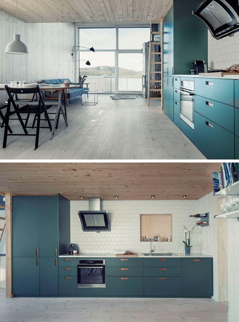 Kitchen Design Idea Deep Blue Kitchens Grey Kitchen Designs Teal Kitchen Cabinets Modern Grey Living Room