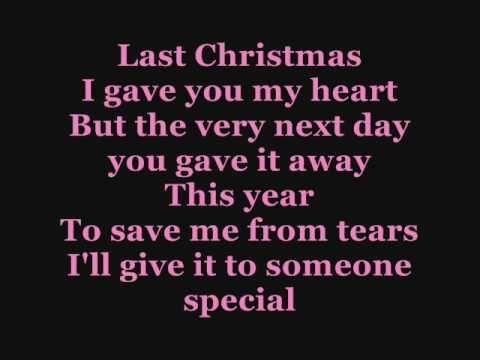 Last christmas by cascada lyrics