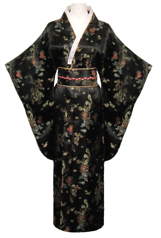 kimono femme mode noir