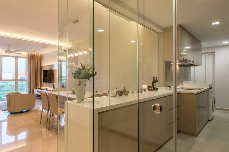 8 ways to do a semiopen kitchen in your hdb  semi open