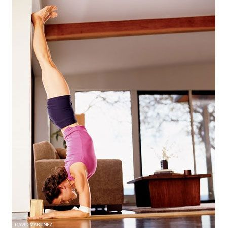 You may know Pincha Mayurasana or Feathered Peacock Pose by one of its common aliases: Forearm or Elbow Balance..