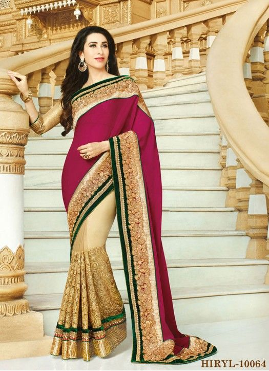 8dd9928bf3 Karishma Kapoor Sarees New collection For Ladies.All fashionable girls like  this collection very much. This collection can be use in all type of  function an