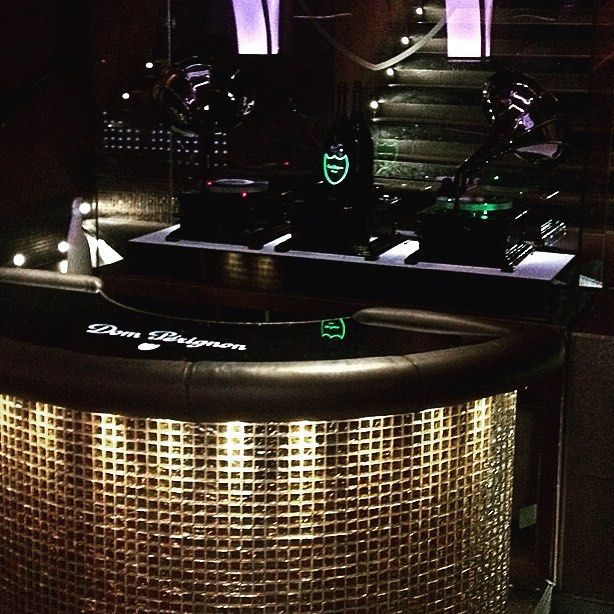 We've been #installing a new @domperignonofficial #bar this week and it's looking incredibly #cool