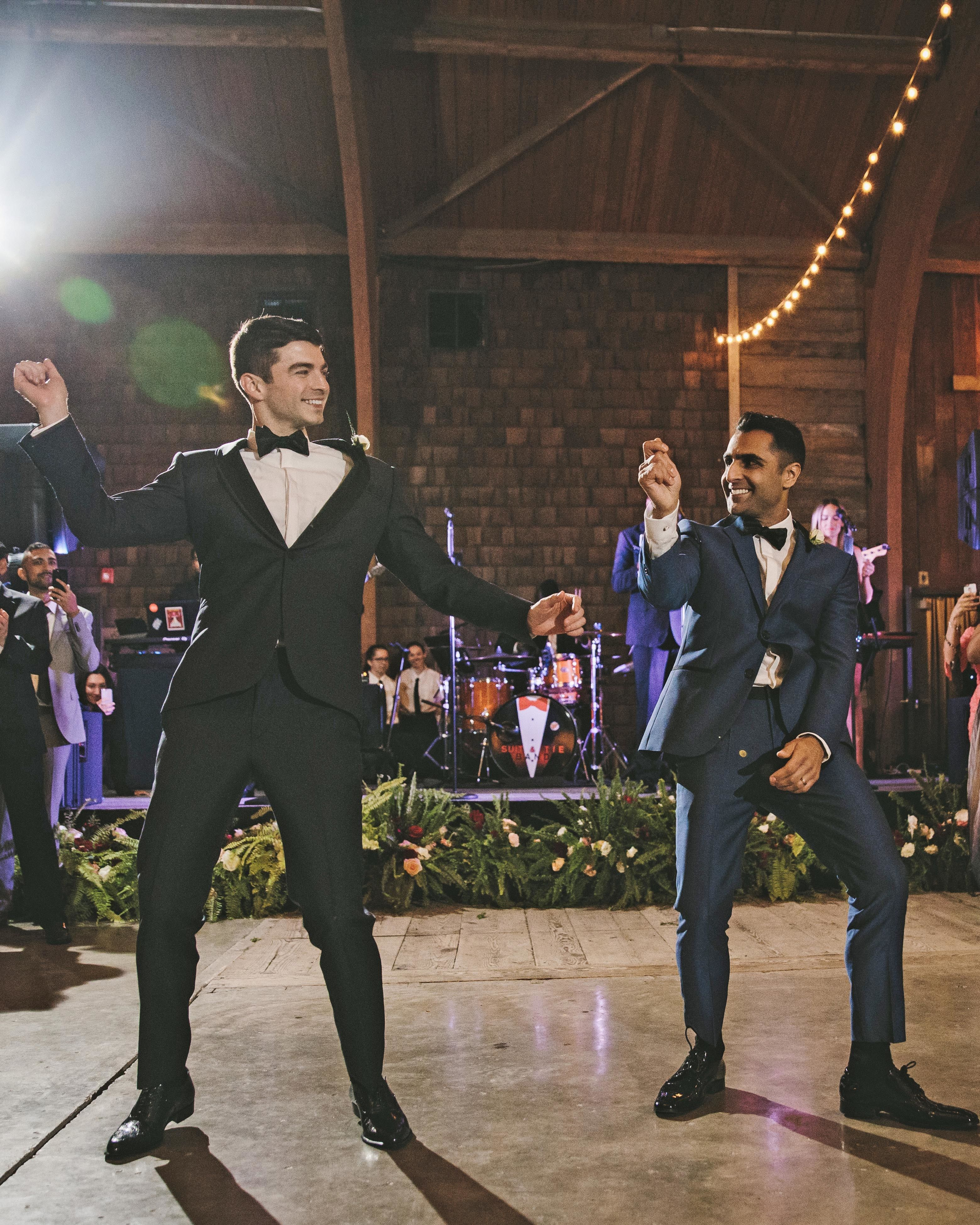 A Joyful, Vibrant Wedding at a Luxury Camp in Upstate New