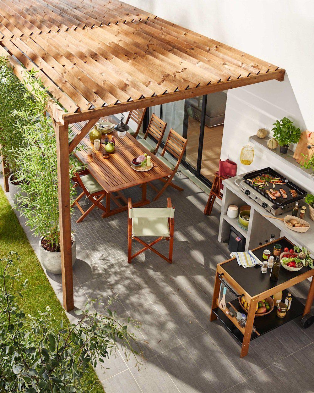 Quel Type De Cuisine Privilegier Pour Une Cuisine Exterieure Pergola Idees Pergola Amenagement Jardin