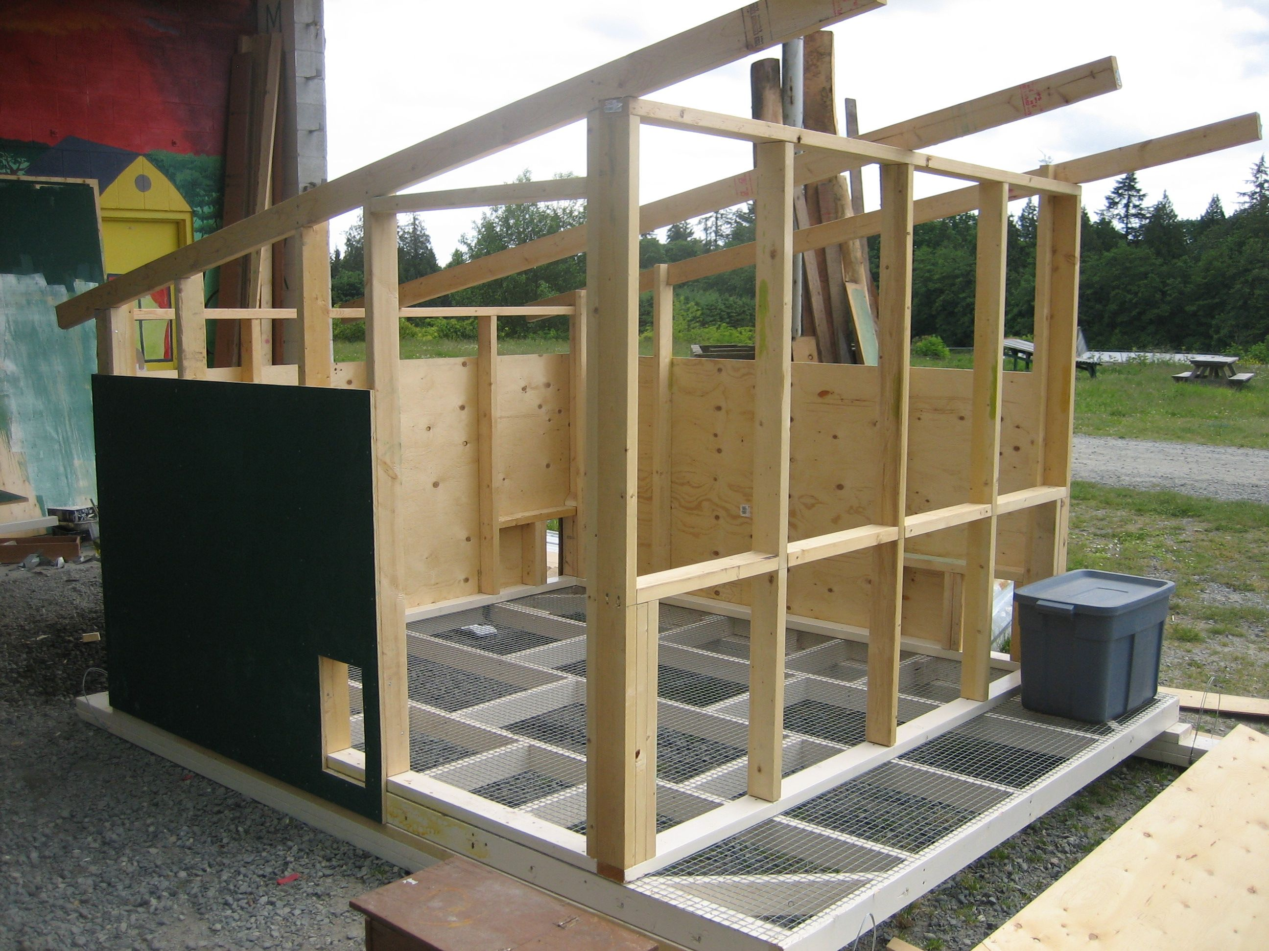 Chicken House construction plans for a chicken coop | chicken houses, coops and
