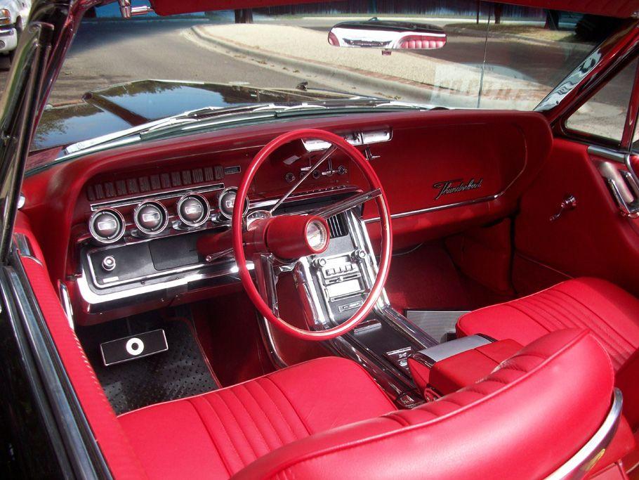 1965 Thunderbird Interior Classic Cars Ford Motor Ford Thunderbird