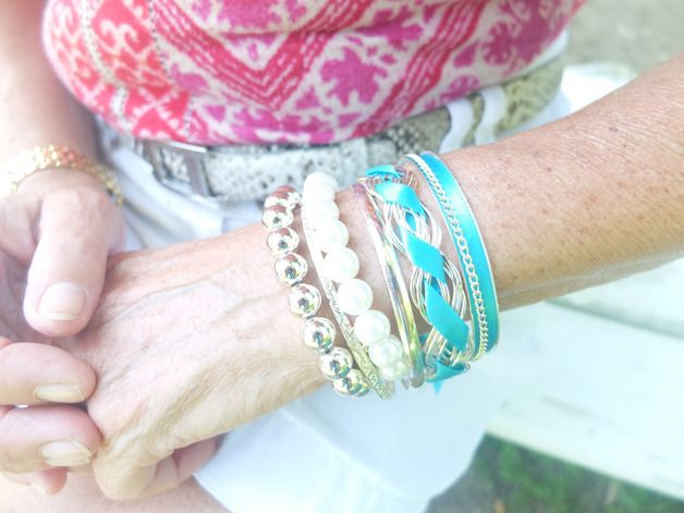 Süßes Vintage Armband Wickelarmband Vögel Baum