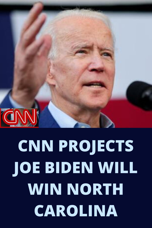 CNN projects that Former Vice President Joe Biden will win