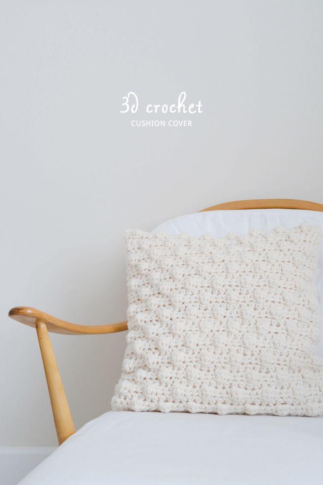 The Principles of 3D Crochet | almohadones crochet | Pinterest ...