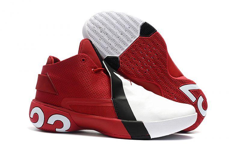 b72455089117 Jordan Ultra Fly 3 Gym Red White-Black Basketball Shoes AR0044-601 ...