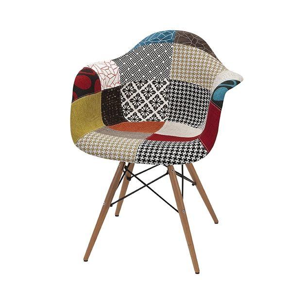(2) Nadine Retro Accent Chair - ModLivingDecor.Com
