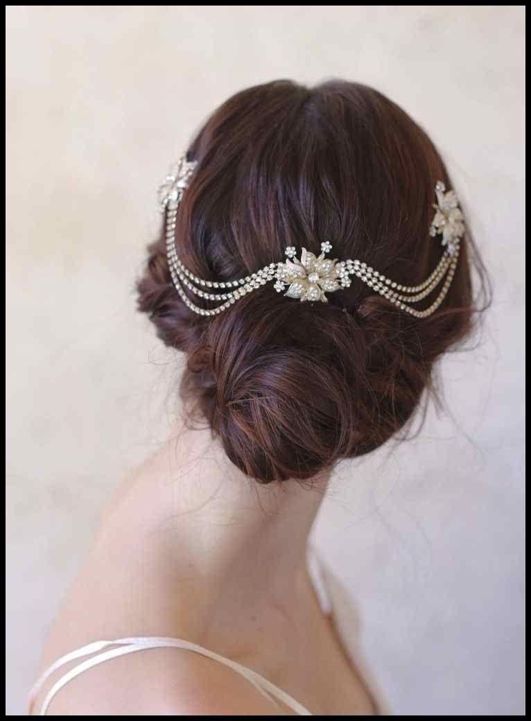 Haarschmuck Vintage Hochzeit Frisuren Tolle Haare Haarschmuck
