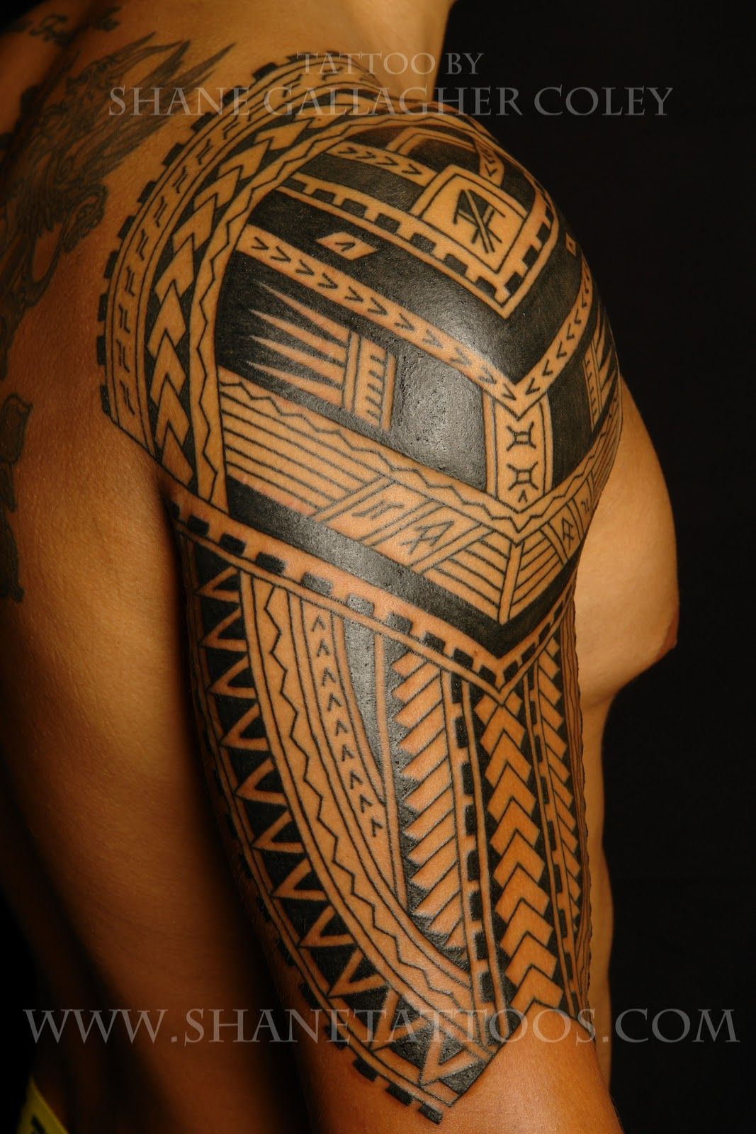 cafa85c9cc Polynesian/Samoan Sleeve Tattoo (in progress) | Tattoos | Samoan ...