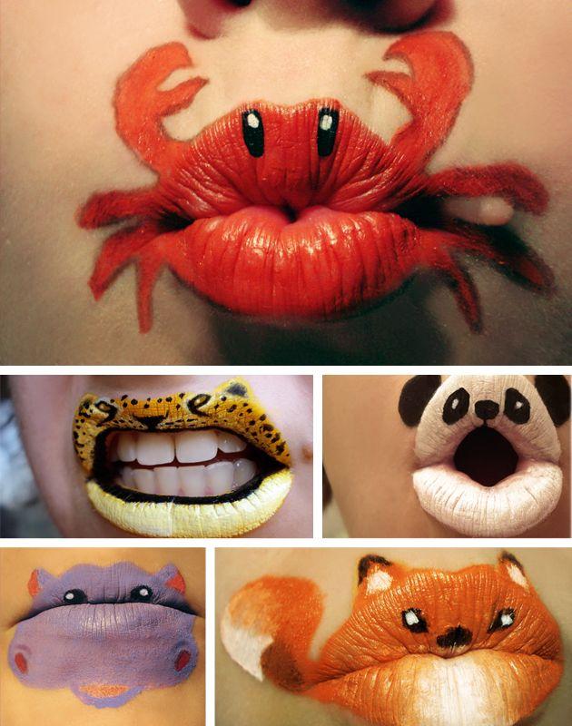 Creative lipstick!