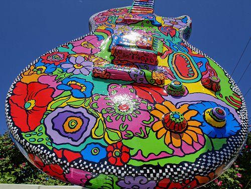 Jeff Seymour Waukesha Guitar Town - August 7th 2021 - Art