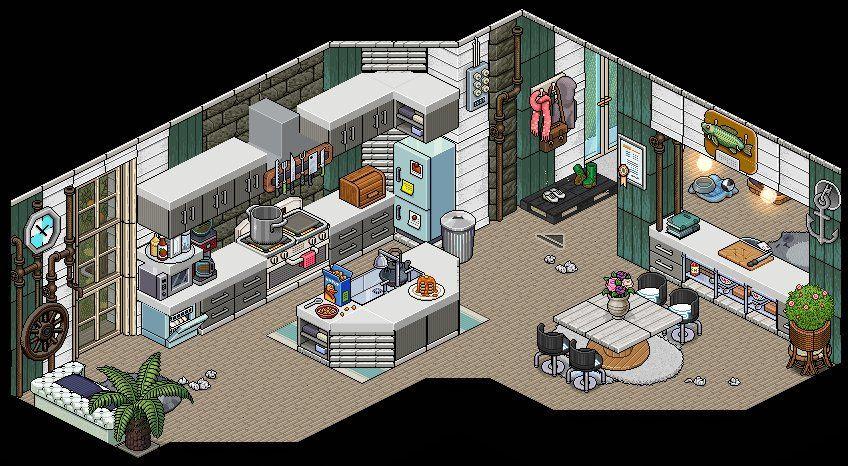 Habbo Room Inspiration Habbo Habblet Casas