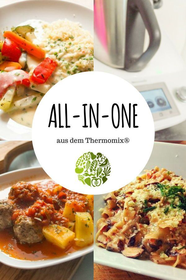 All-in-one aus dem Thermomix TM31, TM5 & TM6