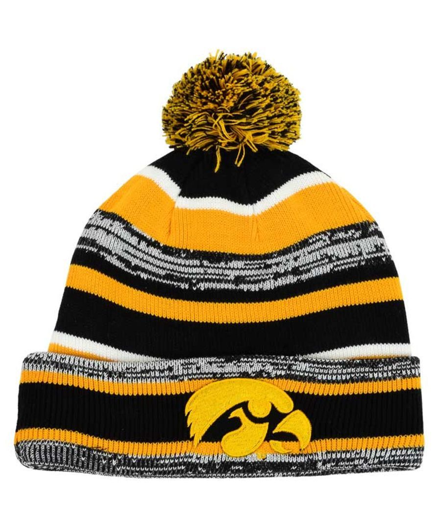 04e723bf1cb New Era Iowa Hawkeyes Sport Knit Hat