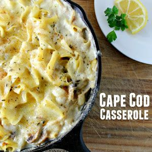 Cape Cod Seafood Casserole Recipe | Yummly