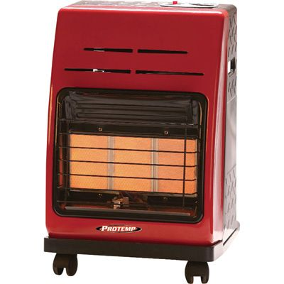 This protemp portable propane cabinet heater lets you roll 18000 this protemp portable propane cabinet heater lets you roll 18000 btu of clean quiet sciox Gallery